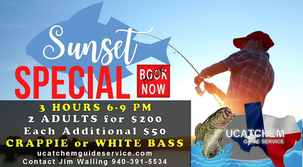 Sunset Special Fishing Deal from Ucatchem Guide Service